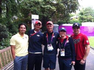 Teresa and Olympians