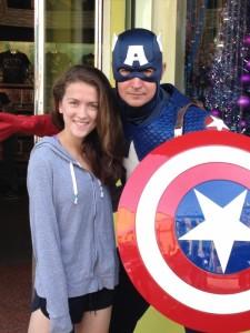 Emma and Cap